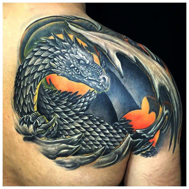 Drakono tatuiruotė