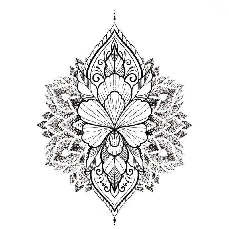 Tūrinė etninė tatuiruotė