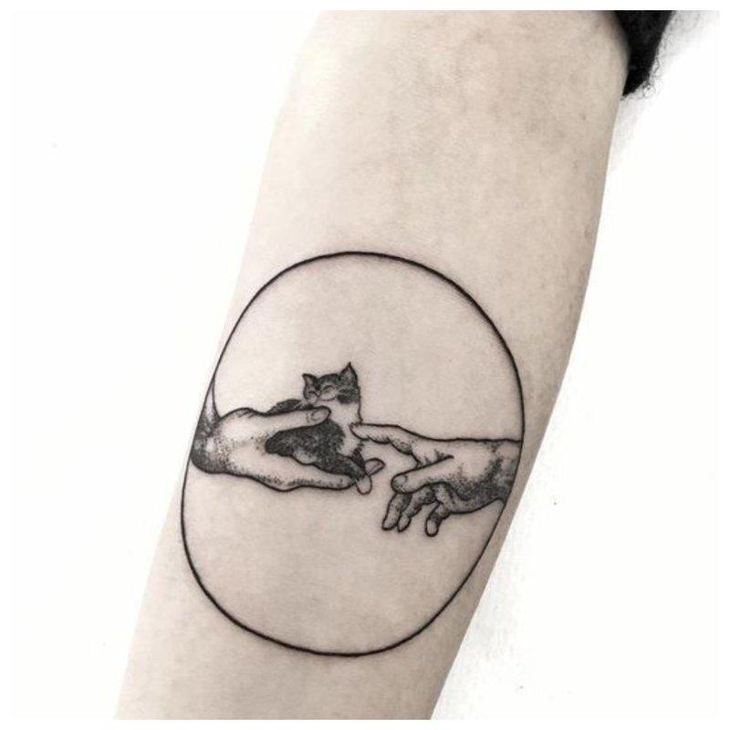 Gražus tatuiruotės eskizas
