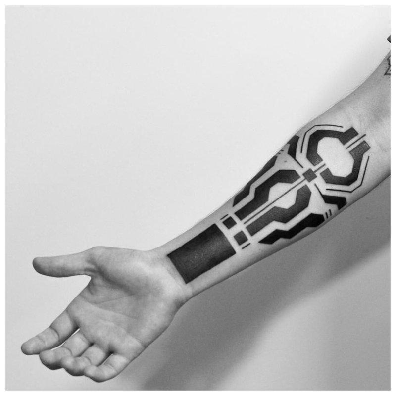 """Cyberpunk"" tatuiruotė"