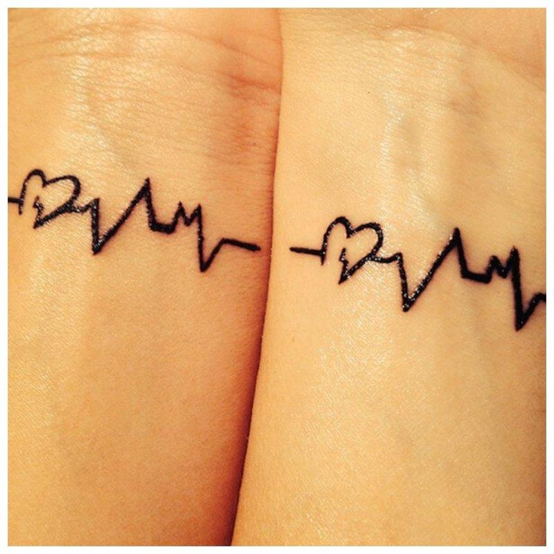 Pulsinė tatuiruotė