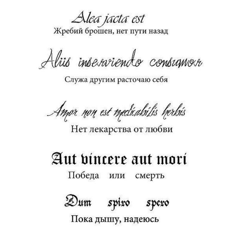 Tatuiruočių frazių eskizas