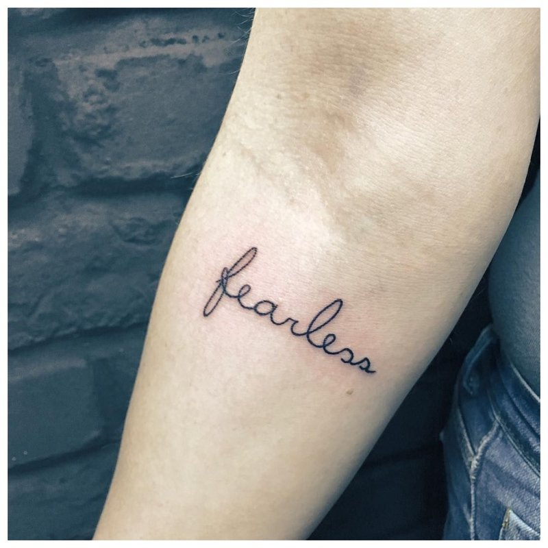 Bebaimis tatuiruotė