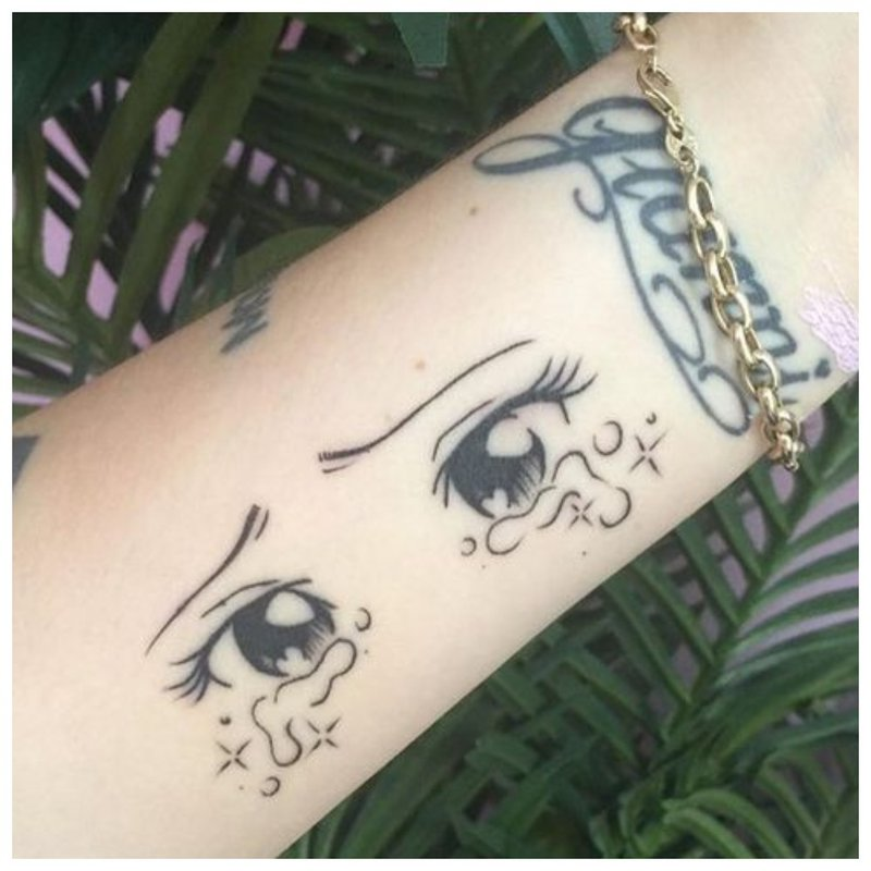 Originali riešo tatuiruotė