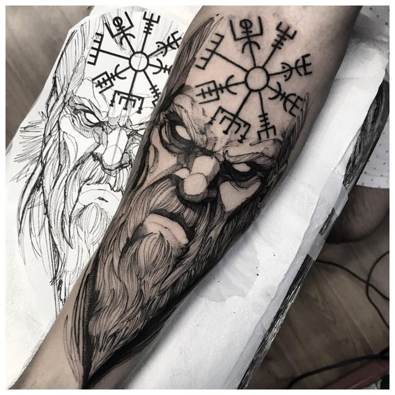 Slavische tattoo