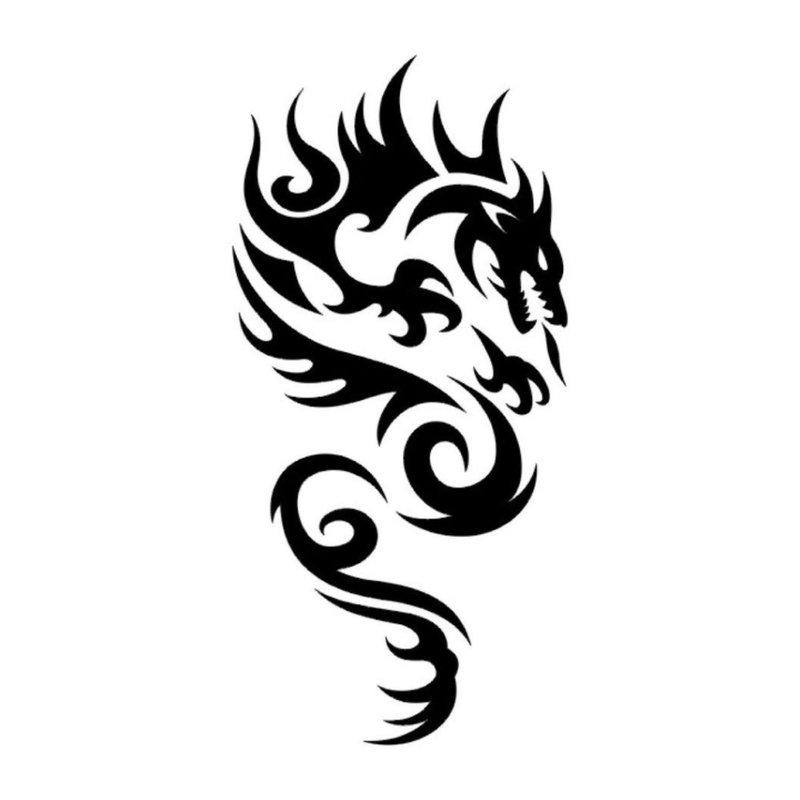 Mitinis gyvūnas - tatuiruotės eskizas