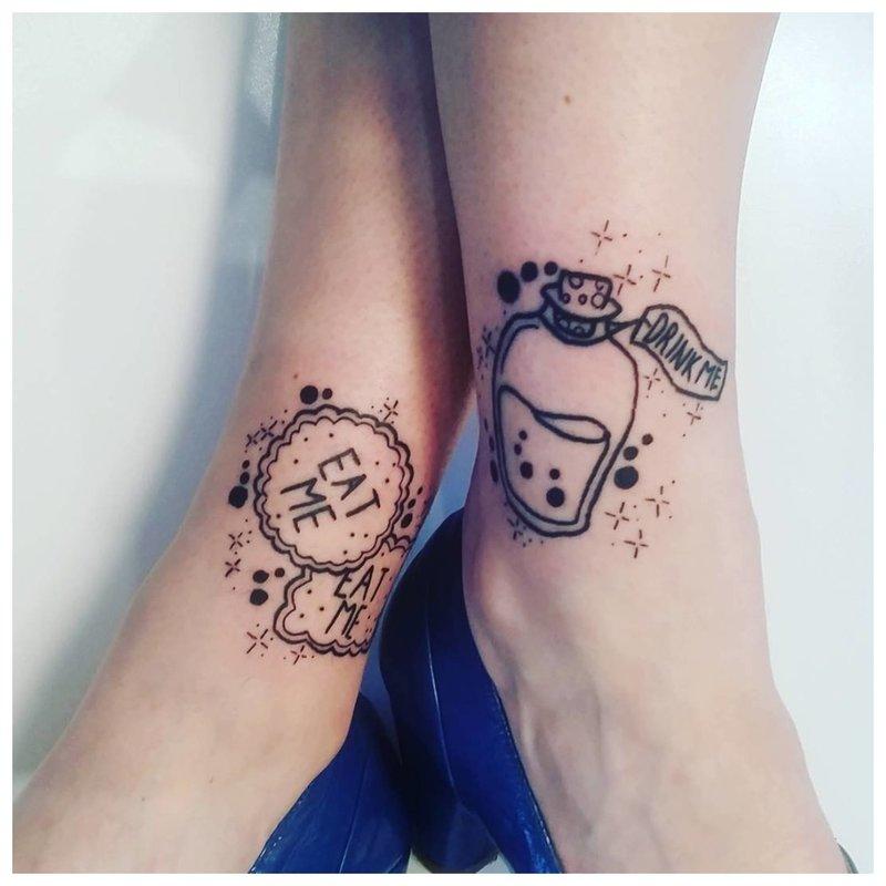 Alisa stebuklų tatuiruotėje