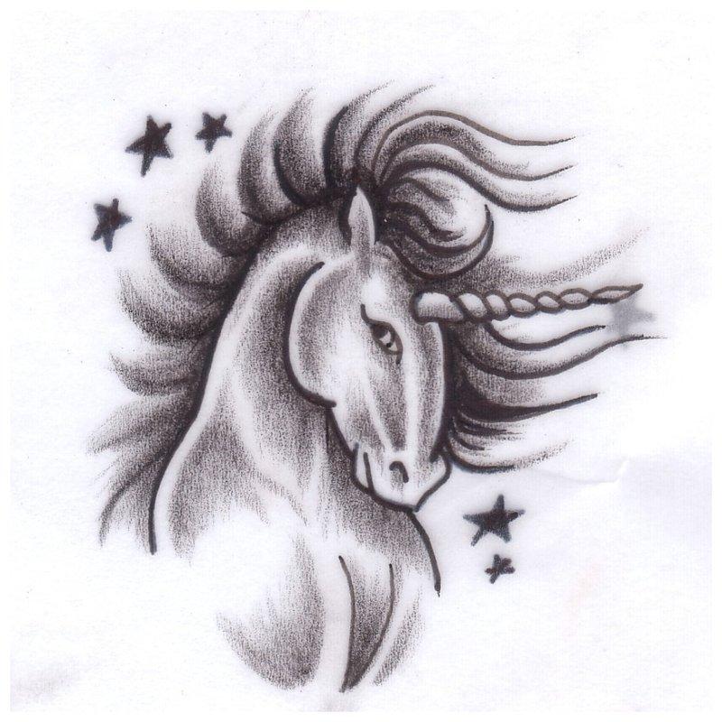 Gražus gyvūnas - tatuiruotės eskizas