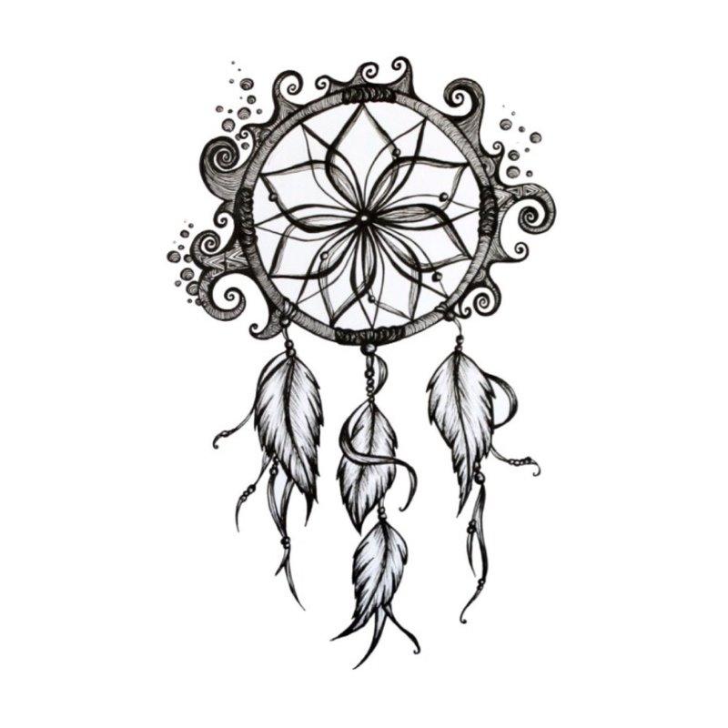 Amuletas - tatuiruotės eskizas