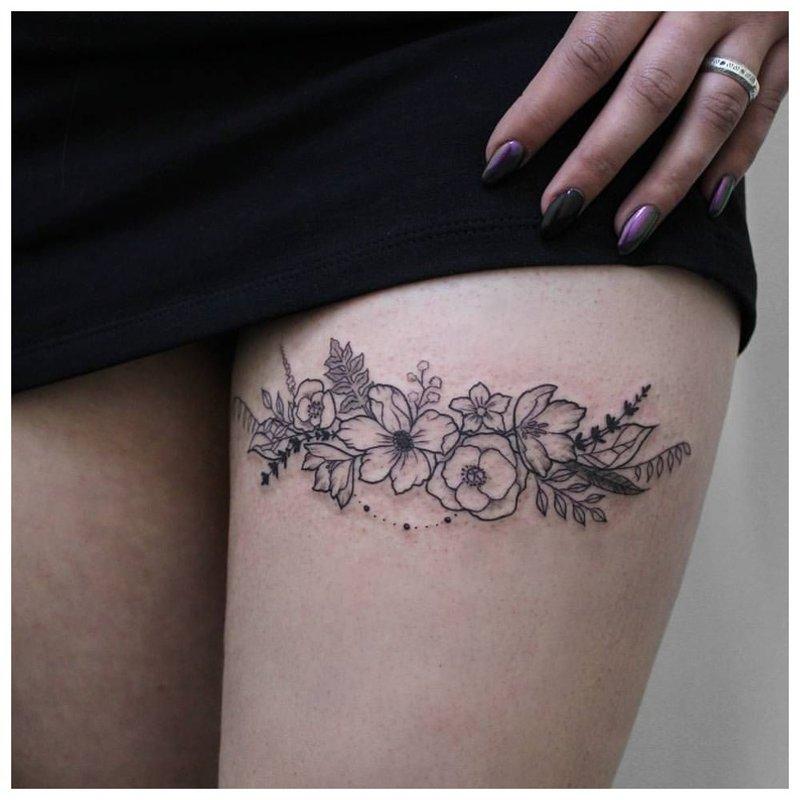 Lengva kojų tatuiruotė