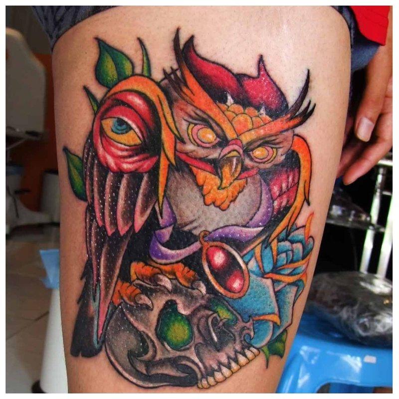 Nieuwjaars tatoeage