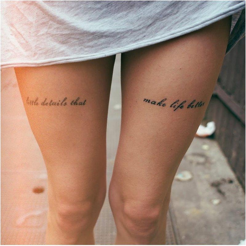 Kojų tatuiruotės
