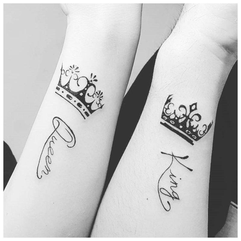 Dvigubų tatuiruočių mėgėjai