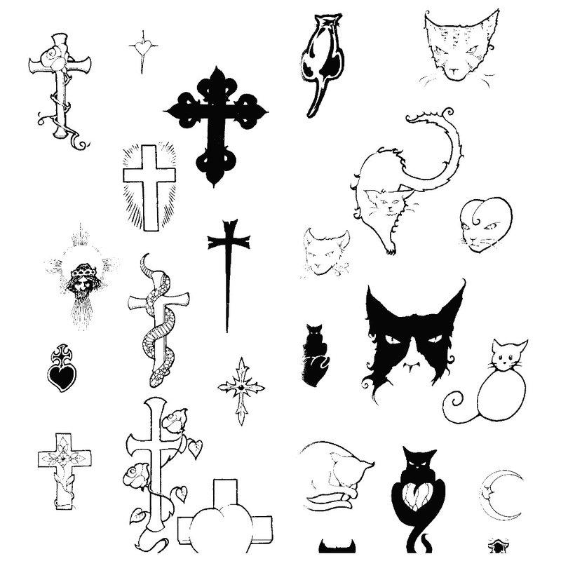 Riešo tatuiruočių eskizai