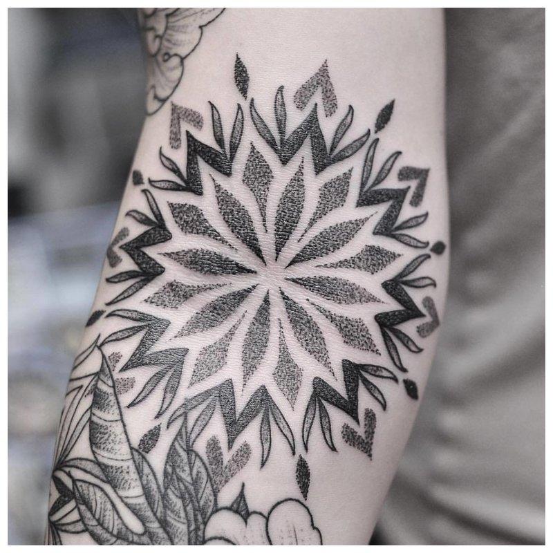Doe-het-zelf tattoo-techniek