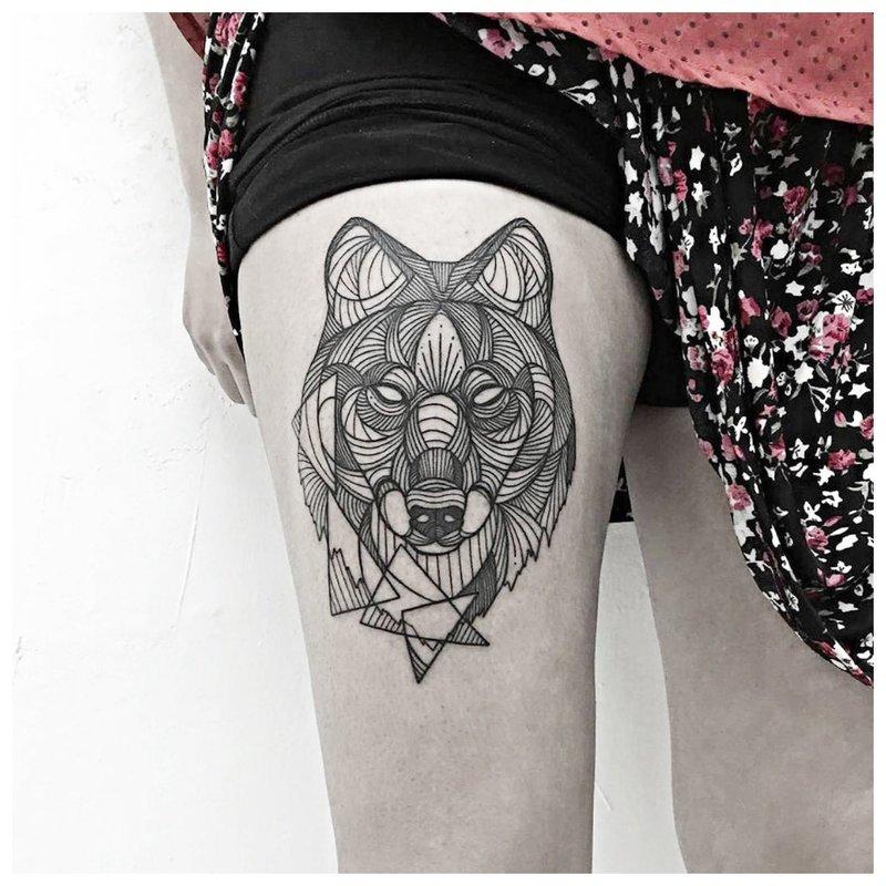 Lijnwerk Wolf
