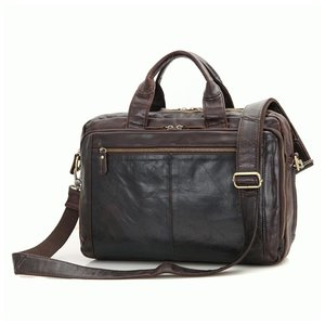 Stilingas vyriškas odinis krepšys