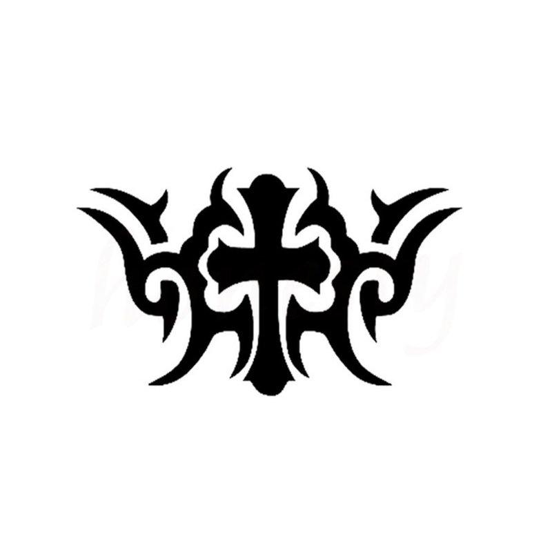 Kryžminis tatuiruotės eskizas