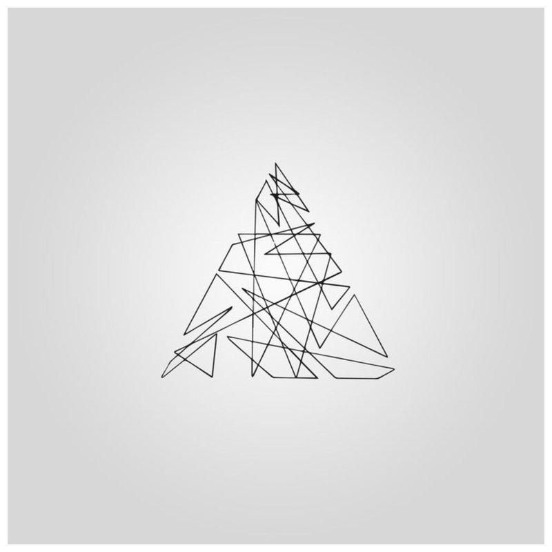 Trikampis - tatuiruotės eskizas