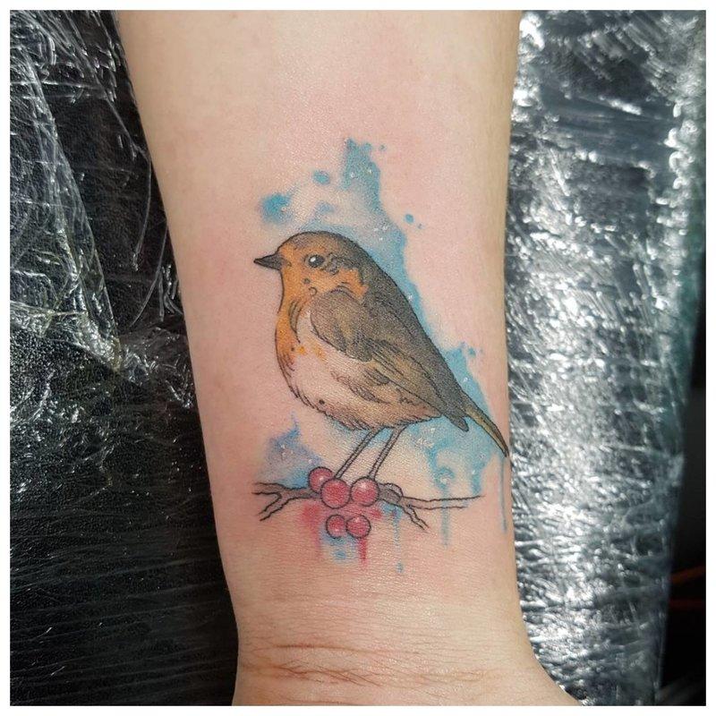 Gyvūnų riešo tatuiruotė