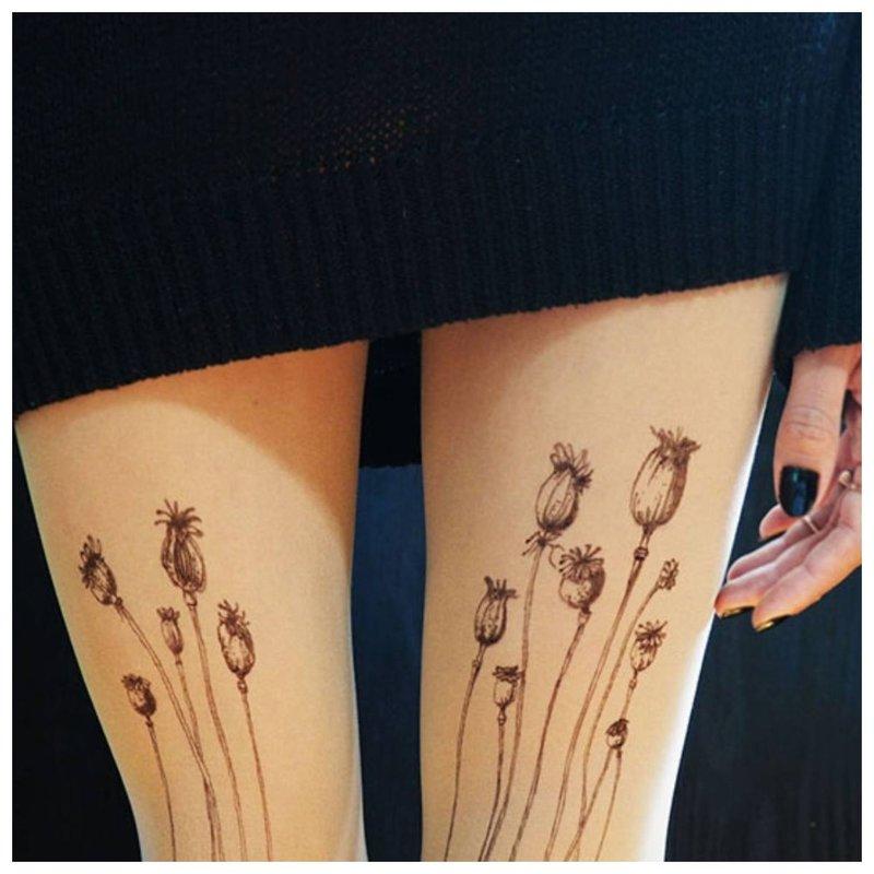Gėlės ant kojų