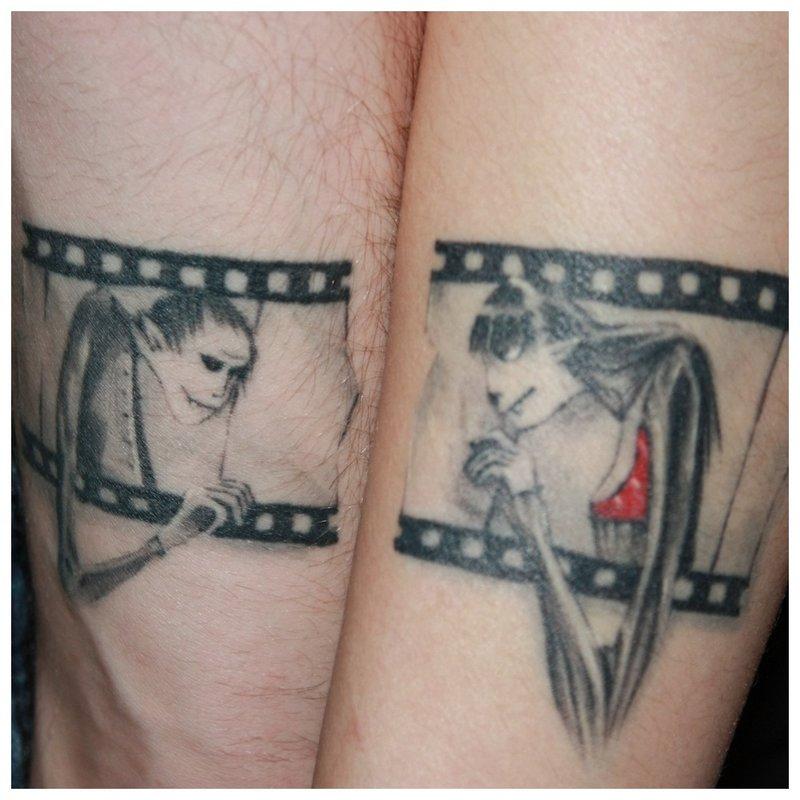 Originali tatuiruotė mėgėjams