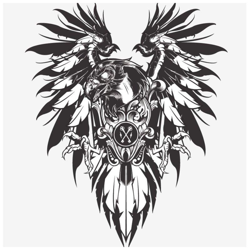 Vyro eskizas tatuiruotei
