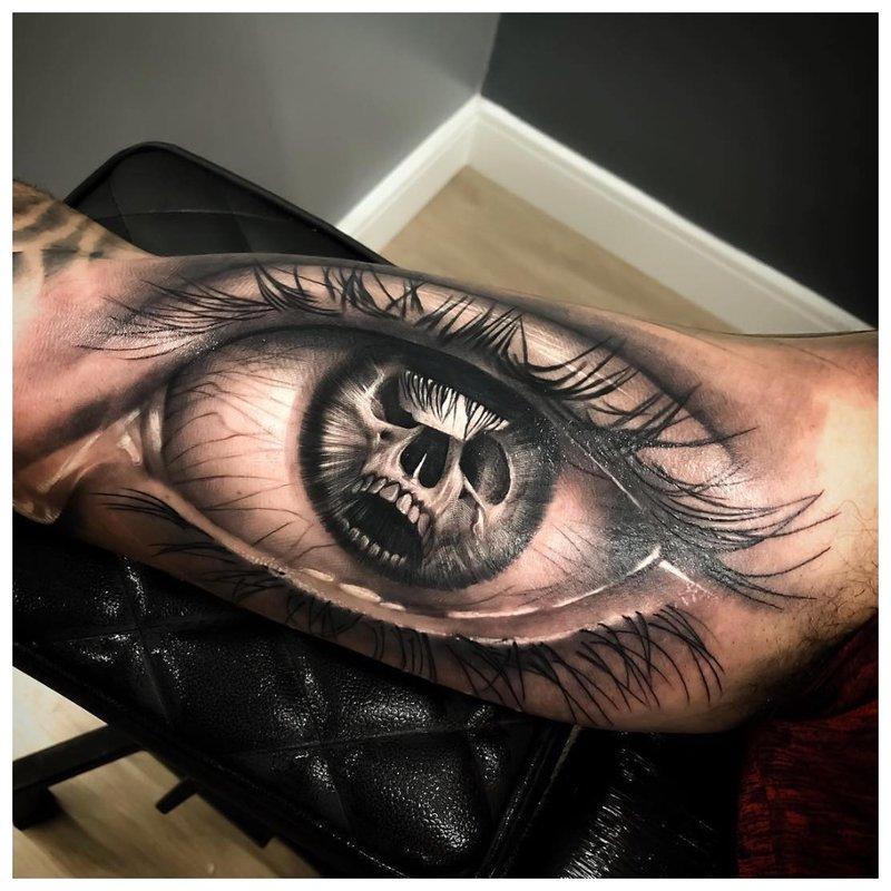 Realistiška akių technika