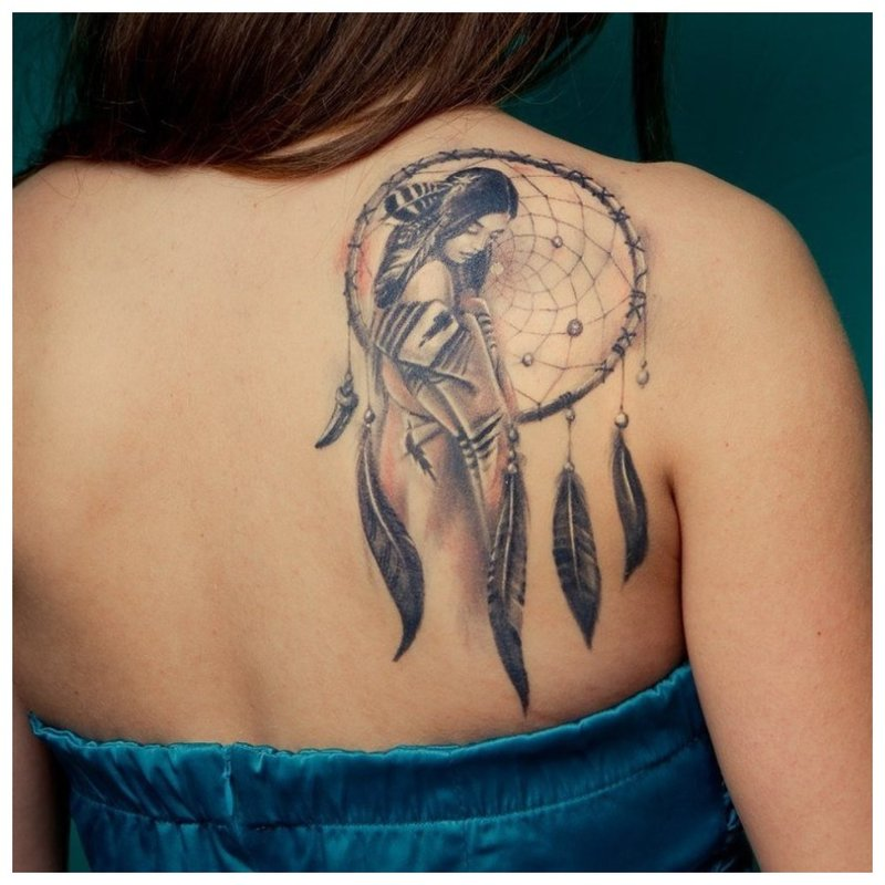 Originalus tatuiruotės piešinys