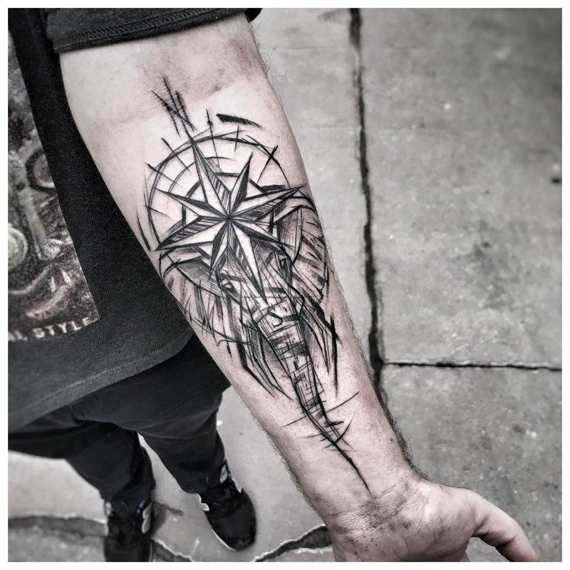 Vyriška tatuiruotė