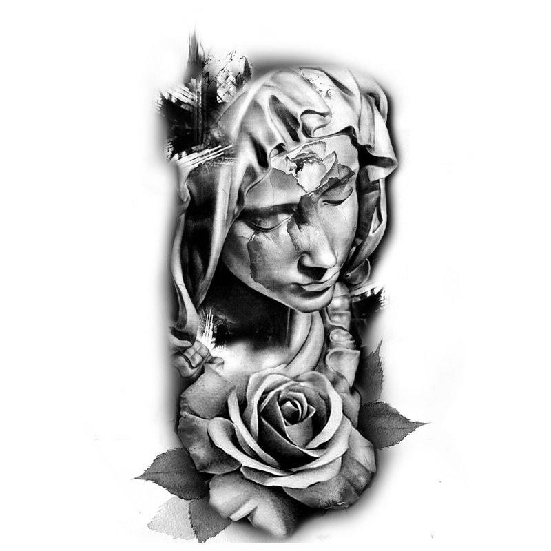 Statula su rože