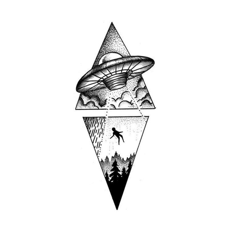 Simbolinis tatuiruotės eskizas