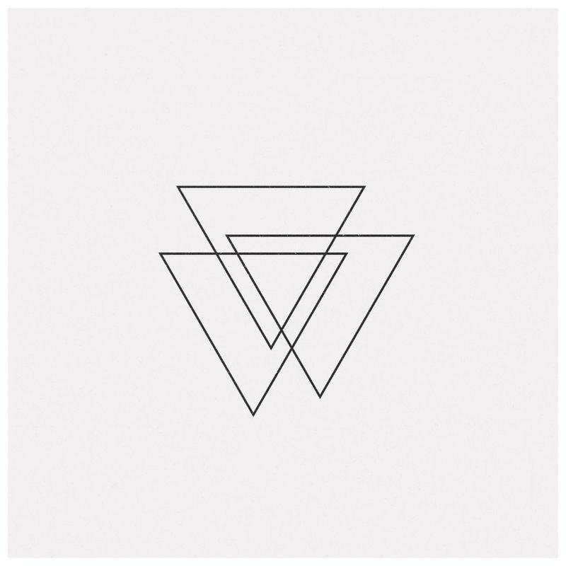 Geometrinis tatuiruotės temos eskizas.
