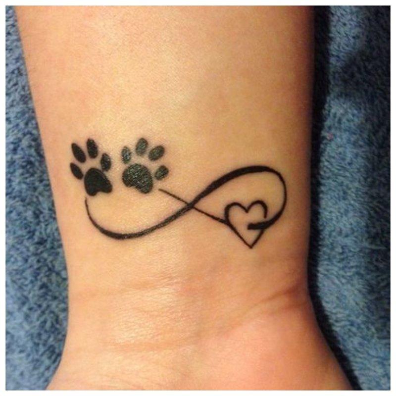 Miela riešo tatuiruotė