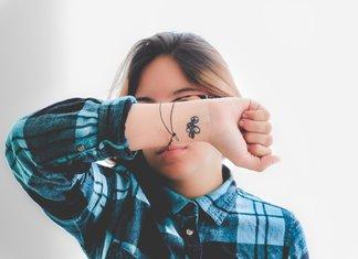 Kleine arm-tatoeages voor meisjes