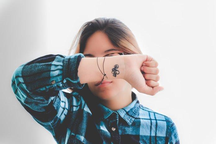 Tatuiruotės mažoms rankoms mergaitėms