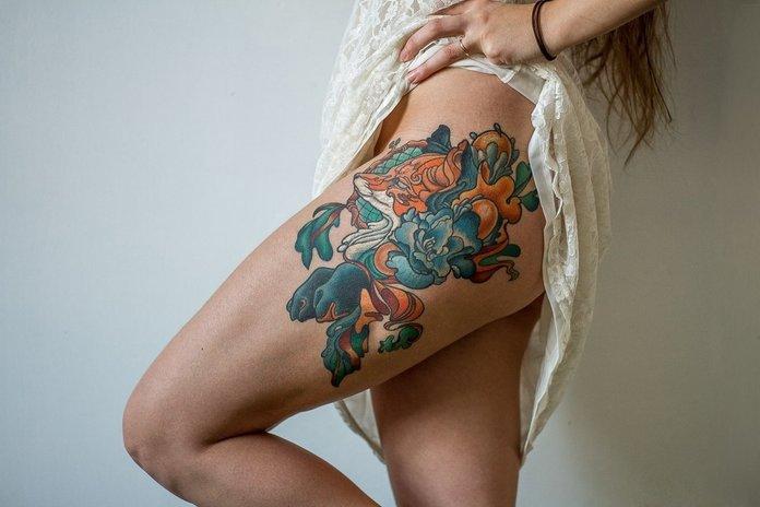 Graži klubo tatuiruotė