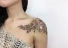 Madingi tatuiruočių variantai mergaitėms