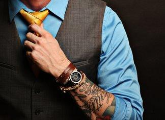 Tatoeage op de arm van een man