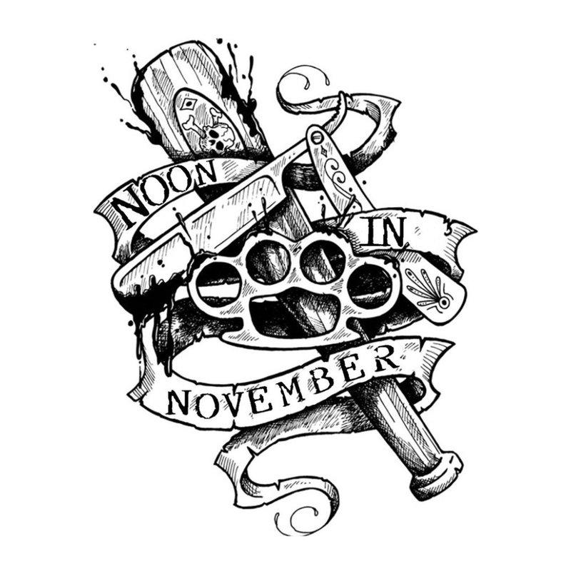 Ongebruikelijke schets voor tattoo