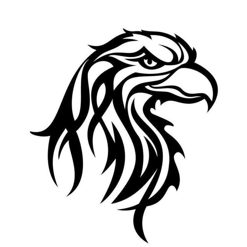 Eagle schets voor tattoo