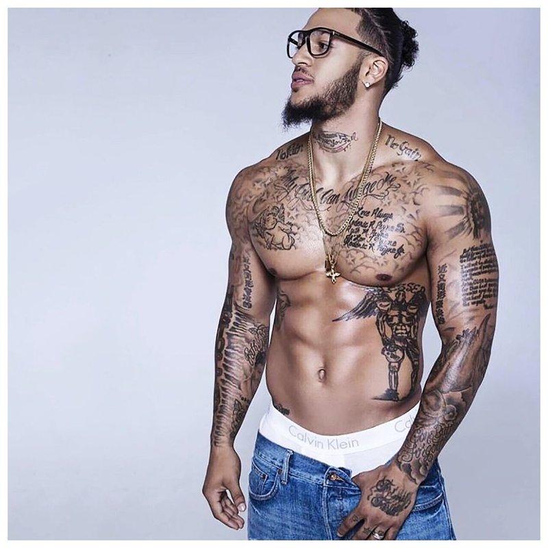 Tatoeages op het lichaam van mannen van beroemdheden