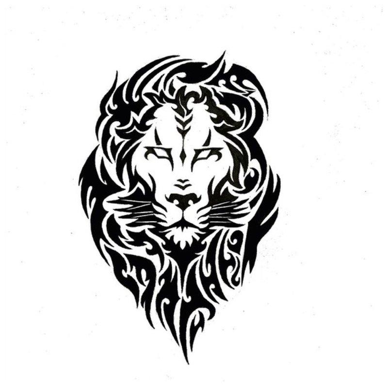 Lion - tattoo schets