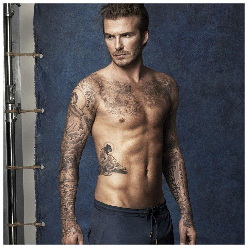 Beckham - borsttattoo