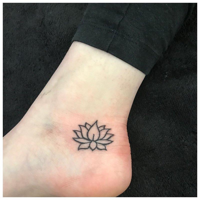 Kontūrinis lotosas
