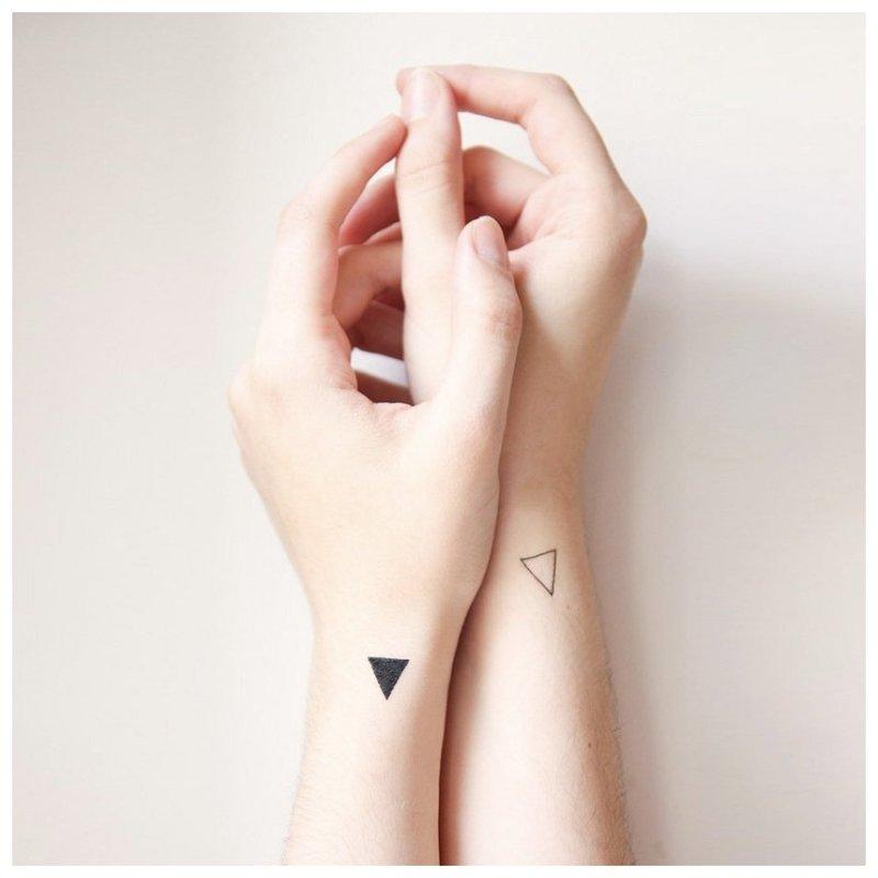 Suporuotos tatuiruotės ant rankų