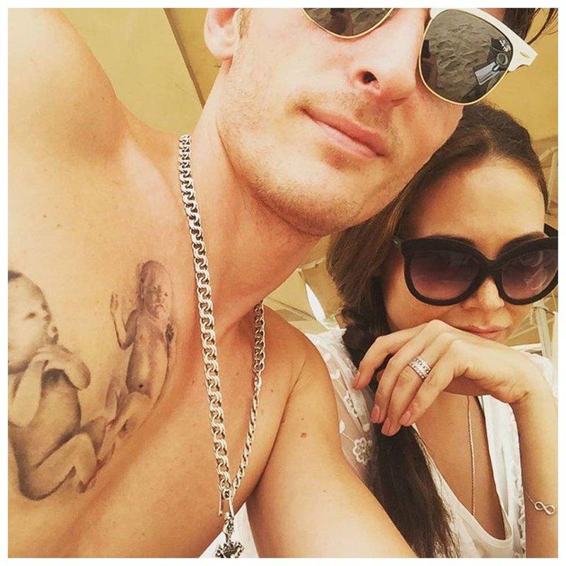 Pavel Volya - tatoeage op de borst
